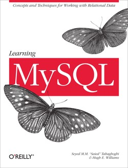 Cover for Learning MySQL Book